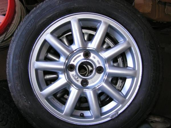 Audi 90 alloy wheels '88-'95 coupe/'94-'98 Cabriolet