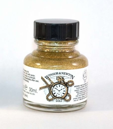 Winsor Newton Gold Drawing Ink
