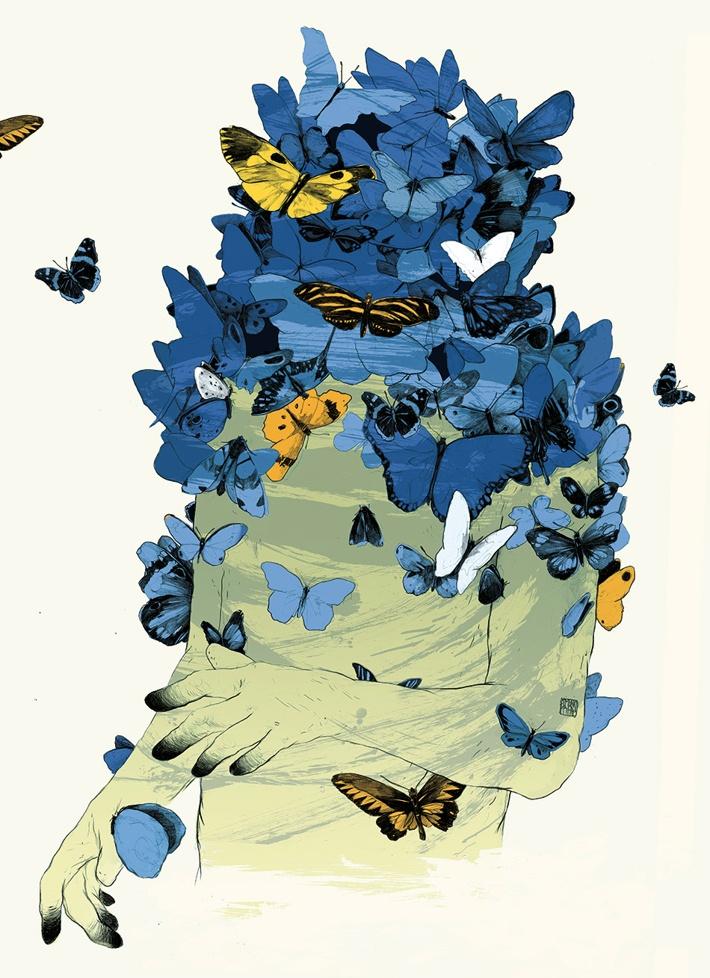 ARTWORK FOR A CONCERT IN BRASIL by Simon Prades, via Behance