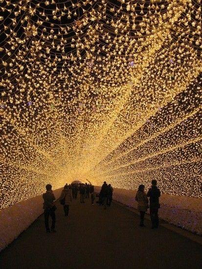 Tunnel of Lights, Nagano, Japan