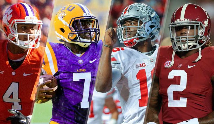 College Football: Clemson, LSU, Ohio State, Alabama Are Top 4 In Playoff Rankings (Week 10)