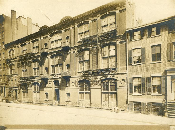 Tenth Street Studio Building, between Fifth and Sixth ...