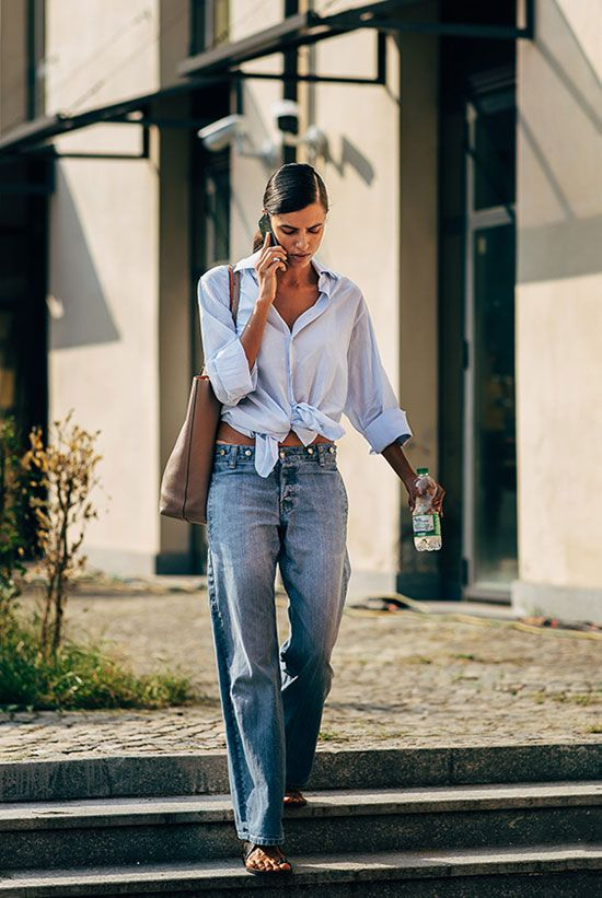 We're Copying This Model's Off-Duty Minimalist Style