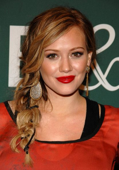 Hilary Duff's Sweet Side Braid - Do It Yourself - How to Get Hollywood's Best Hairstyles at Home - StyleBistro