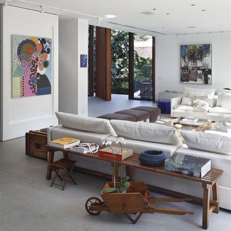 198 besten Wohnzimmer Bilder auf Pinterest Zuhause, Couches und - moderne bilder fürs wohnzimmer