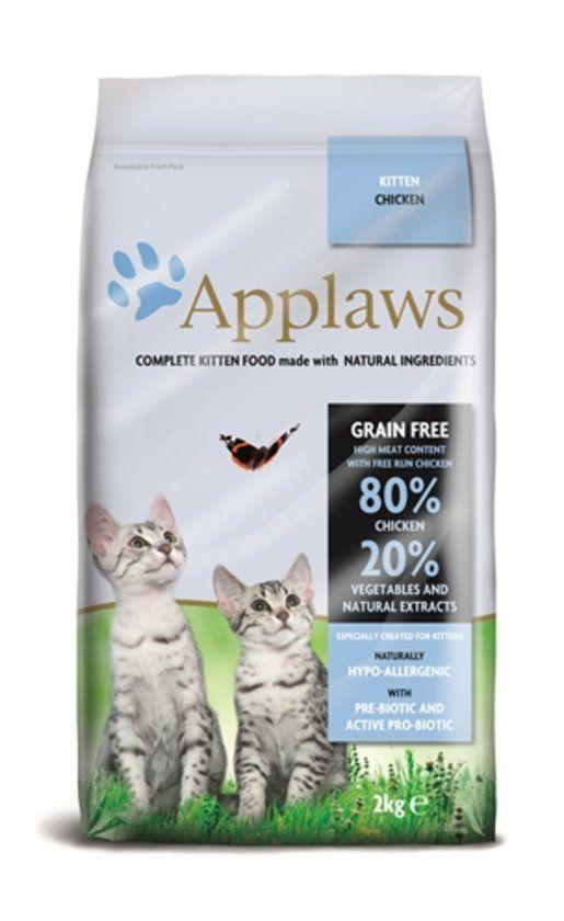 Applaws gaanvrij Kitten - Kip - Kattenvoer - 400 g