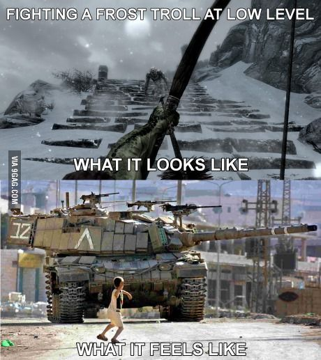 All Skyrim players have been through this