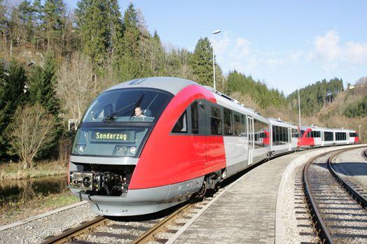 ÖBB 5022 Desiro Mühlkreisbahn Austria, Siemens