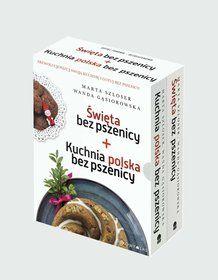 Pakiet: Święta bez pszenicy / Kuchnia polska bez pszenicy - Szloser Marta za 49,49 zł | Książki empik.com