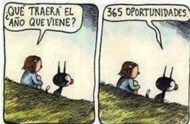365 oportunidades \\ by Macanudo.