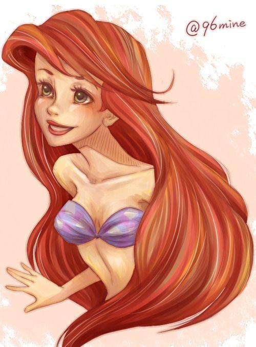Ariel looks like a crack whore....