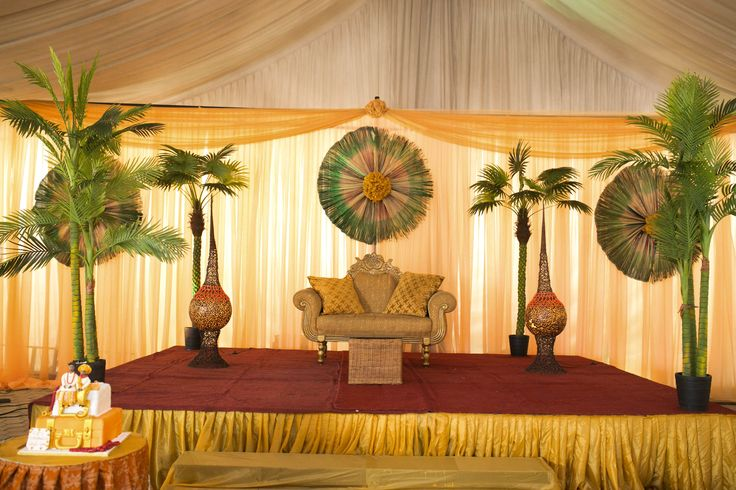 Pin by honeydrop artistry on traditional wedding stage for Traditional wedding decor ideas