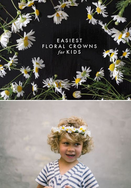 DIY floral crowns / The House that Lars Built