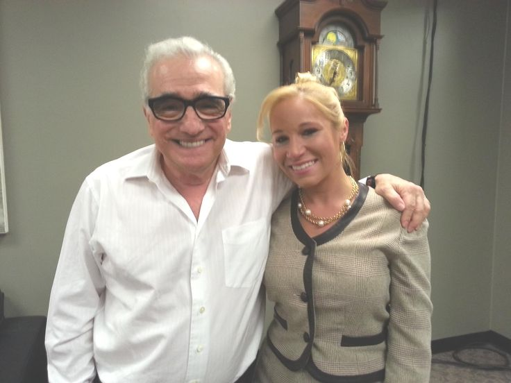 Stephanie got to work with the iconic Martin Scorses while shooting the film The Wolf of Walstreet!
