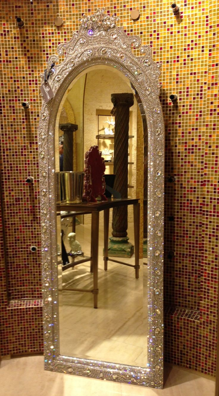 2309 best home decor images on pinterest home architecture and room luxury details swarovski crystal mirror displayed at the encore home store las vegas photo by wendy tomoyasu