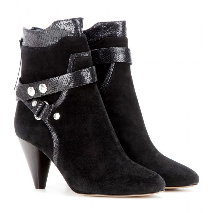 Shop for Raya Suede Boots by Isabel Marant at ShopStyle.