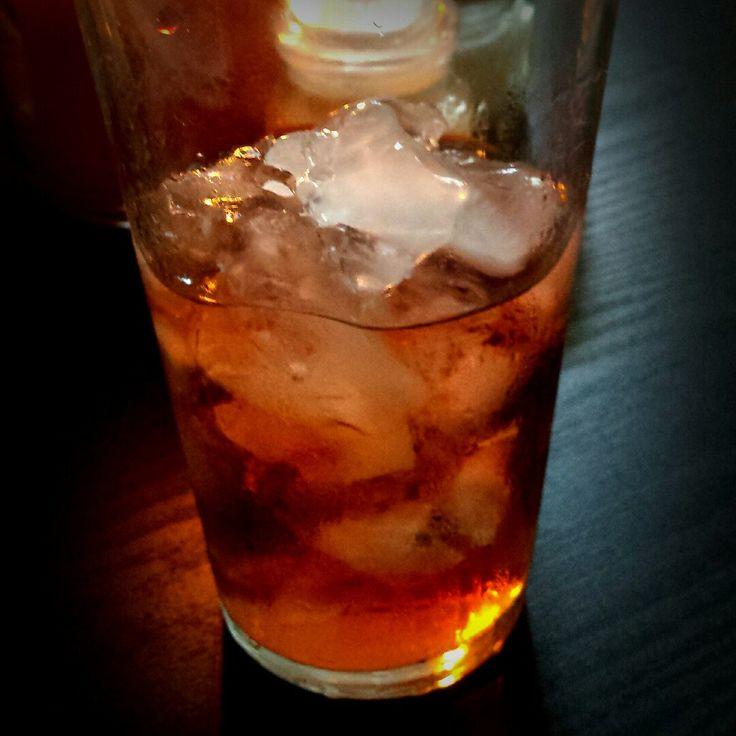 Sipping on midnight mango iced tea. Life is good!