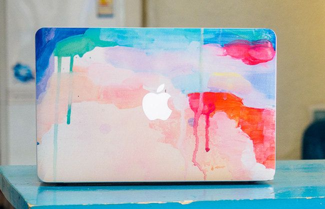 Macbook pro decal color Macbook retina front by freestickersdecal, $19.99