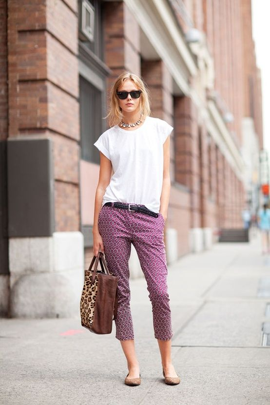 Street Style Spring 2013: New York Fashion Week > love the cropped