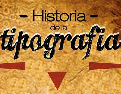 "Check out new work on my @Behance portfolio: ""Historia de la tipografía""…"