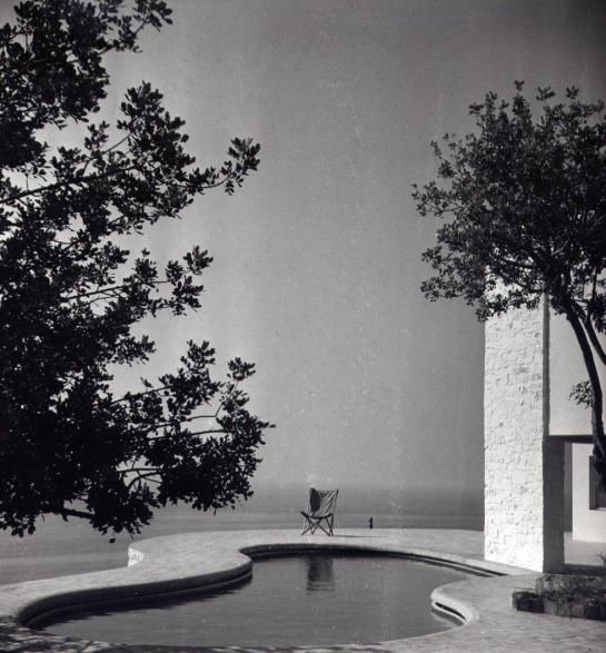 Ugalde House, Caldes d'Estranc (Catalonia) Architect Josep Antoni Coderch i de Sentmenat with Manel Valls Collaboration . 1951 commissioned by Eustaquio Ugalde.