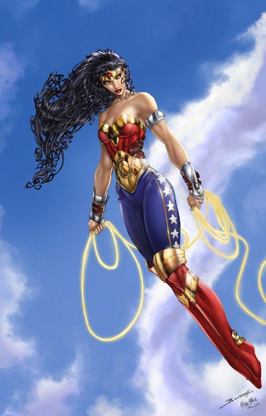 DC Wonder Woman Brett Both