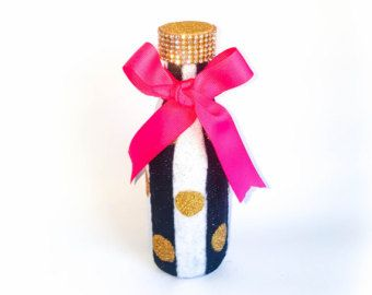 Bebé ducha decoraciones botellas de Glitter por BlingGlitterAndMore