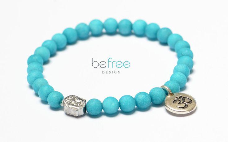 Love is All - BeFreeDesign - Bransoletki #yoga bracelets