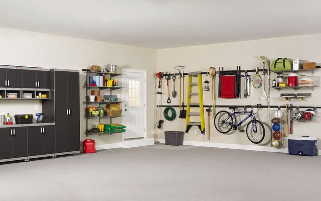 Rubbermaid FastTrack Garage Organization System by Rubbermaid Products - how organised does this look