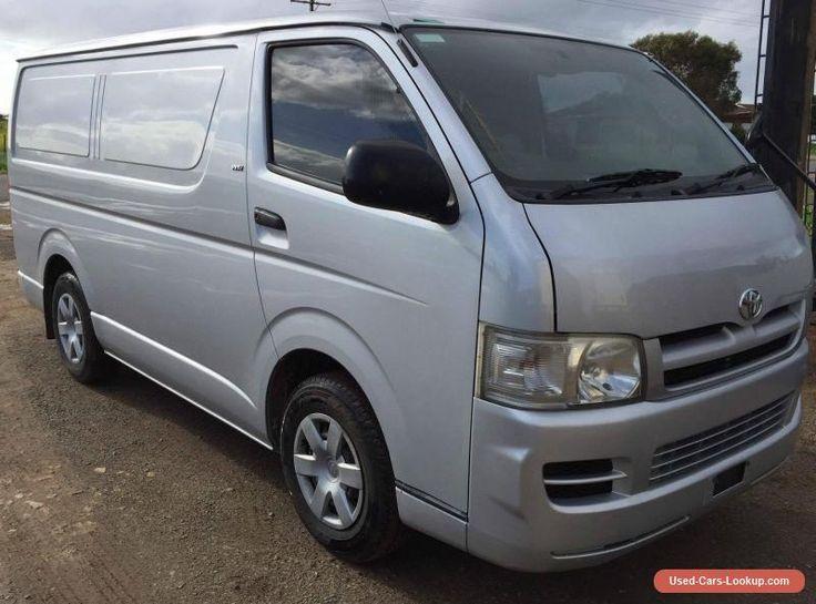 2006 Toyota Hiace LWB Van 2.7L Petrol M LIGHT DAMAGE REPAIRABLE DRIVES  #toyota #hiace #forsale #australia