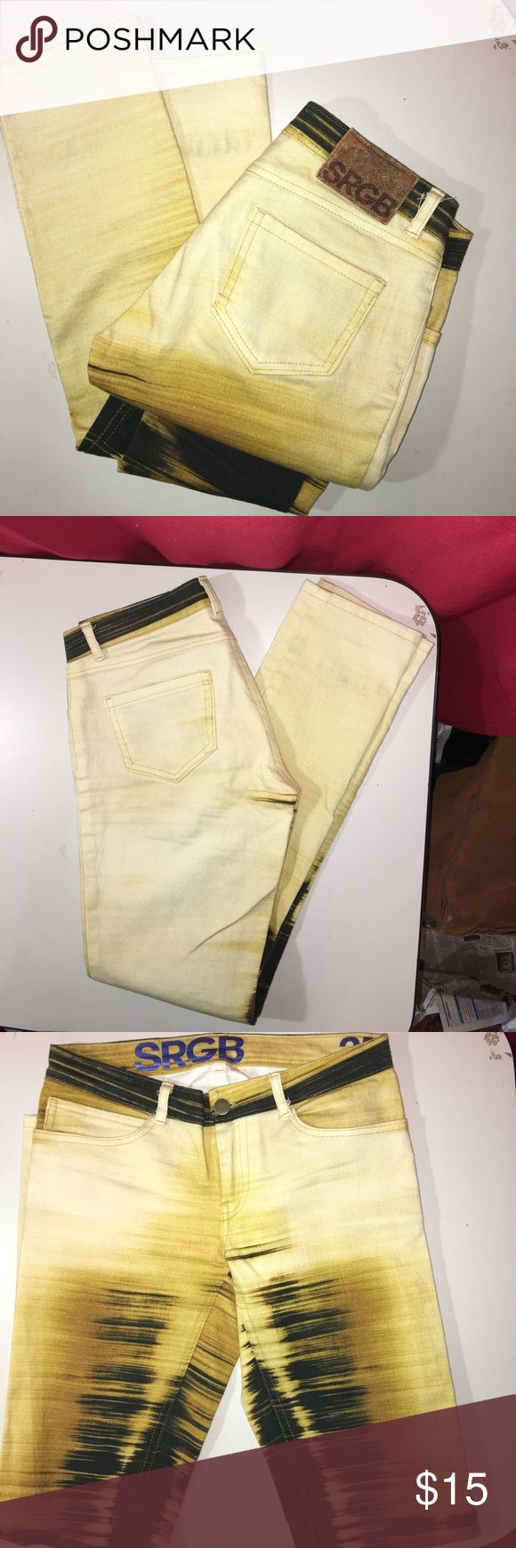STGB  tie-dye jeans size 25 STGB  tie-dye jeans size 25 inseam 31. In very good used condition STGB Jeans Straight Leg