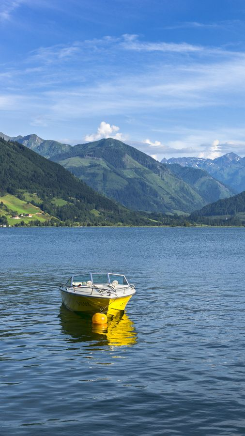 Did you know that Lake Zell has drinking water quality?