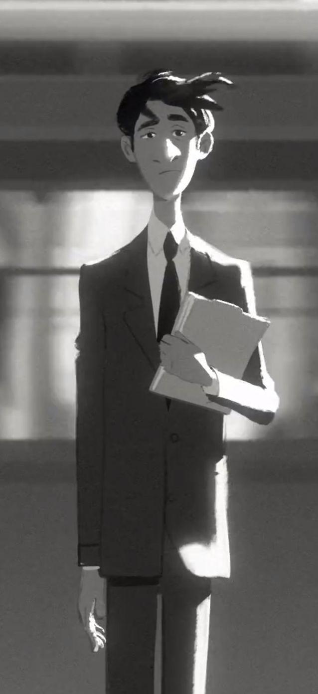 Paperman, Disney's Oscar-nominated Short Film / http://www.yatzer.com/paperman-film-disney-oscar-John-Kahrs