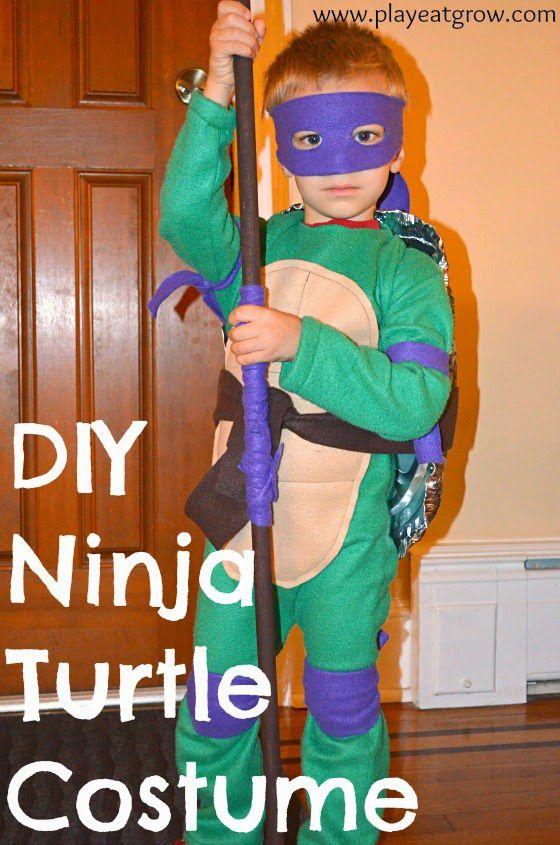 DIY Teenage Mutant Ninja Turtle Costume - Play Eat Grow