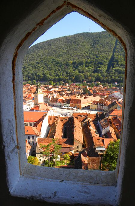 Views from the White Tower, Brasov: http://bbqboy.net/brasov-romania-photos-and-our-no-fluff-thoughts-on-staying-here-and-extended-period-of-time/ #brasov #romania