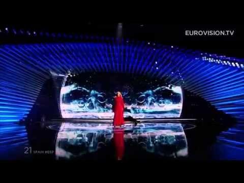 Actuacion de Edurne   Eurovision 2015   Gran Final