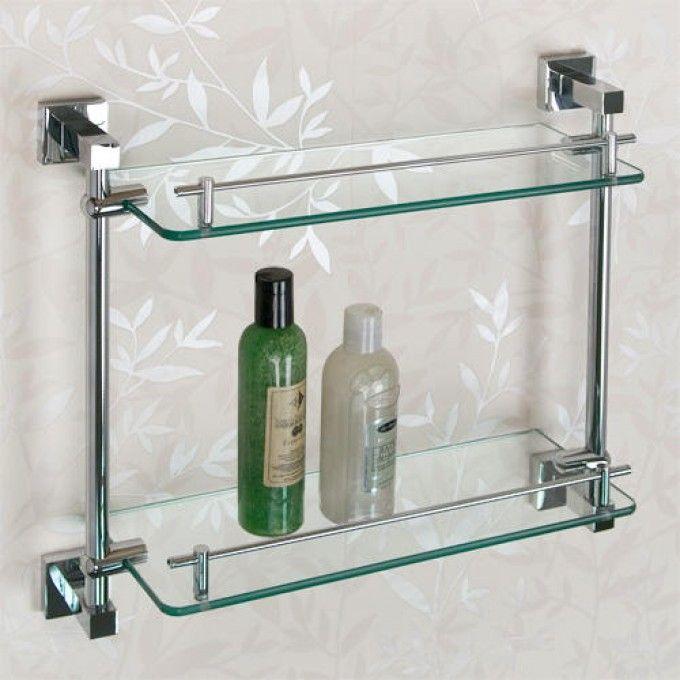 albury tempered glass shelf two shelves