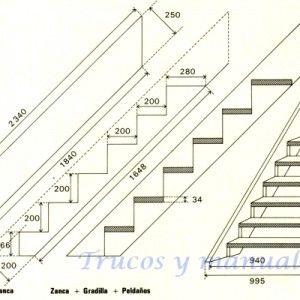 Escalera exterior de madera 10