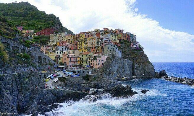 Manorola, Cinque Terre, Tuscany, Italy by Ineke Klaassen on Flickr.