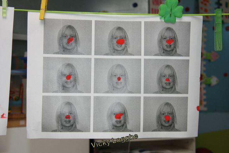 Geef jezelf een rode neus (peuters - eerste)