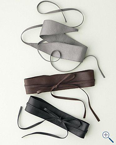 I  like these obi belts.