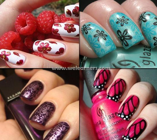 506 best beautiful nails images on pinterest nail arts 506 best beautiful nails images on pinterest nail arts beautiful and easy christmas nail designs prinsesfo Images