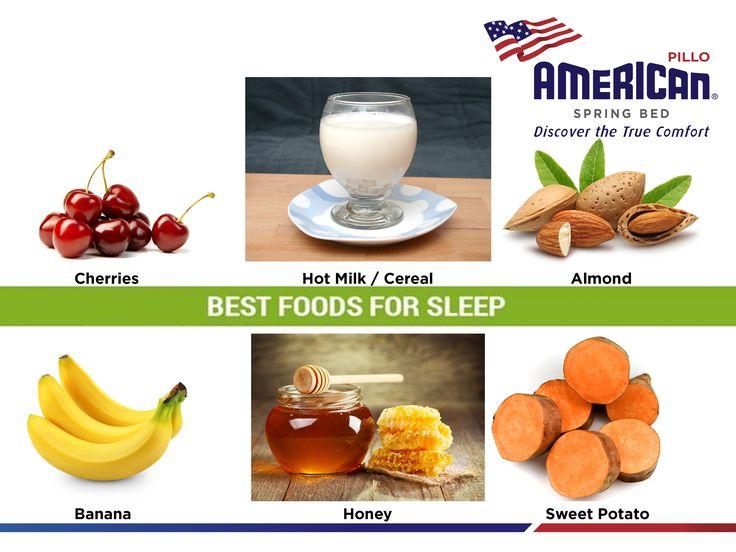 Konsumsi makanan yang ideal sebelum tidur adalah sekitar 200 kalori dan merupakan kombinasi dari karbohidrat ditambah sedikit protein. #AmericanPilloInfo