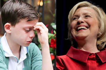 """Hillary Clinton Has The Top Comment On This Heartbreaking """"Humans Of New York"""" Photo"""