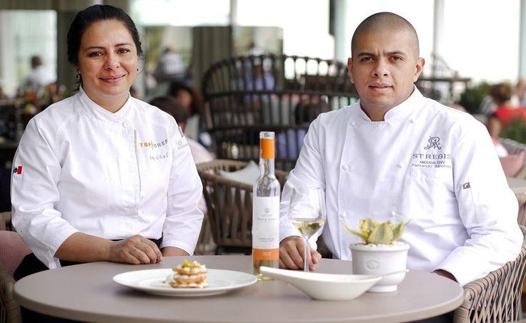 Los chefs Fernando Sánchez e Ix-chel Ornelas celebran con menú mexicano