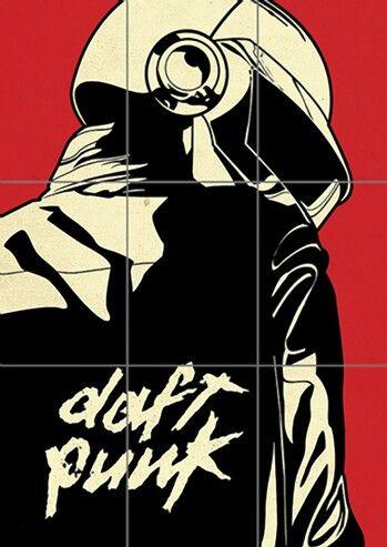 Daft Punk Art