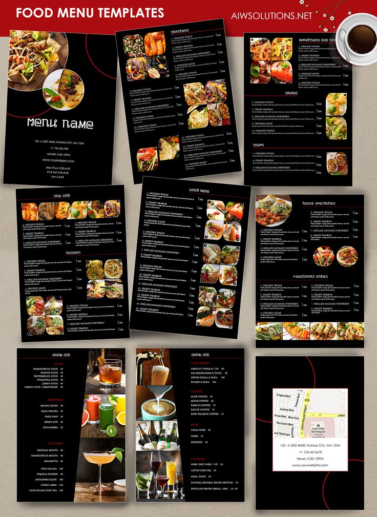 Best 25 Thai restaurant menu ideas – Sample Cafe Menu Template