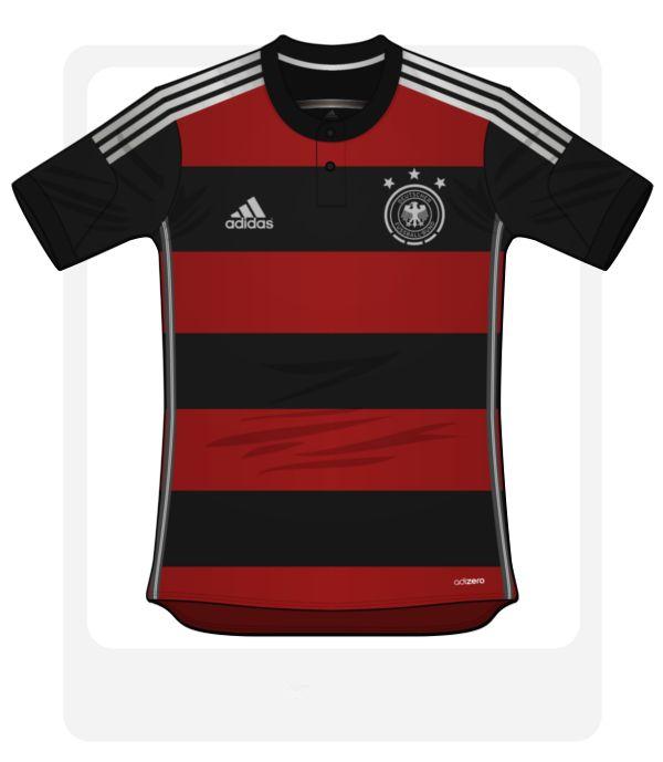 Germany World Cup 2014 Away Football Kit Design http://brazilsworldcupshirts.co.uk/