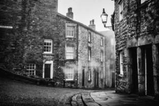 Castle Street Lancaster on a cold damp misty winters morning. Buy a Print or Canvas of this Photograph here, http://www.theprintersinc.co.uk/ViewDesign?d=add9a2fc-8313-4b65-b0a6-5edffdd3d1c9