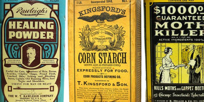 Vintage Packaging: Miscellaneous Products | Vintage packaging ...